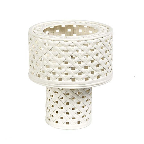 Woven Cylinder Table Lamp