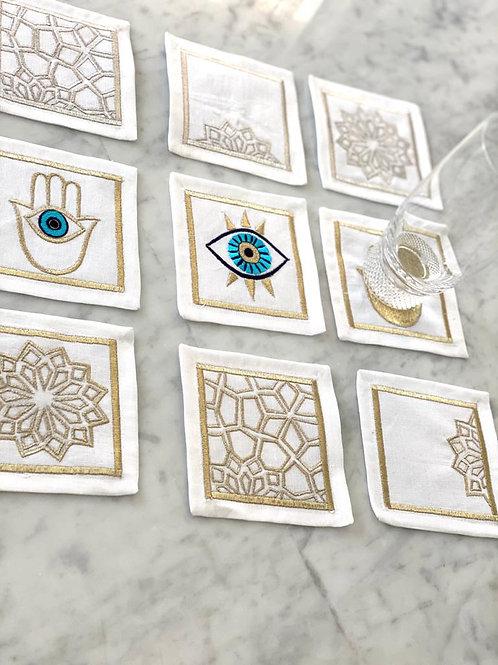Linen Coaster set