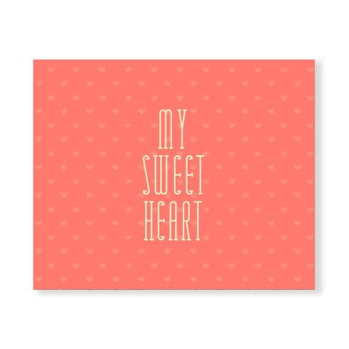 My Sweet Heart - Peach