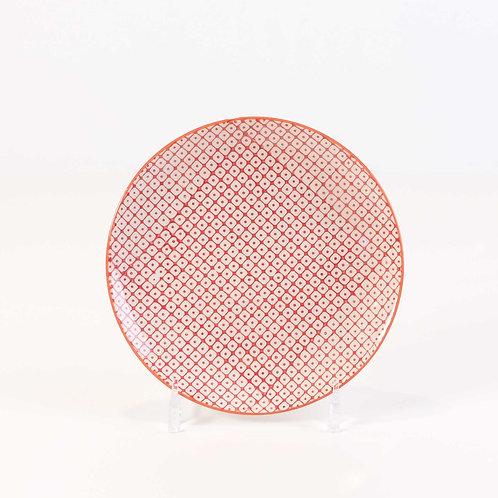 Patterned Dessert Plate