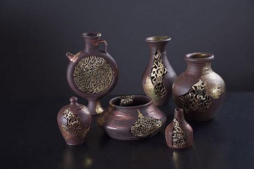 Decorative pot L