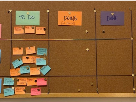 Kanban: Supporting Time Management, Intentional Living, and Reflection