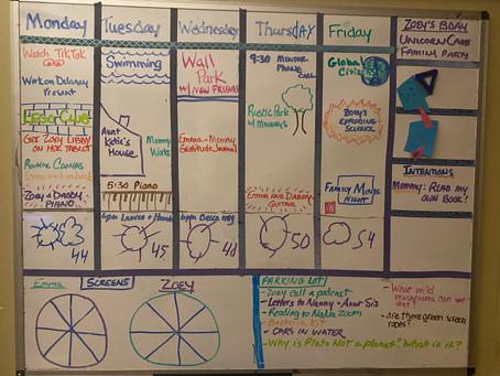 Set the Week Calendar