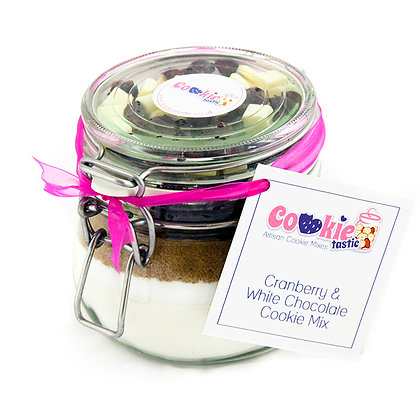 Cranberry & White Chocolate Cookie Mix