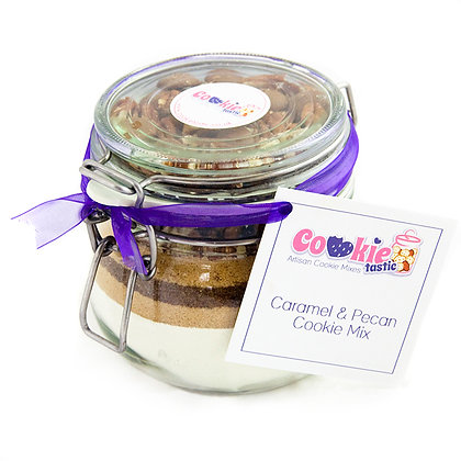 Caramel & Pecan Cookie Mix