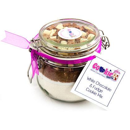 White Chocolate & Fudge Cookie Mix
