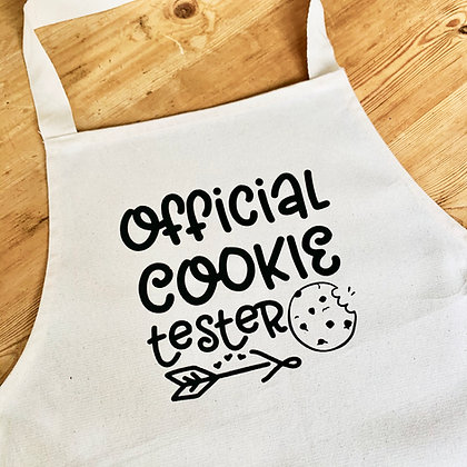 Official Cookie Tester Apron