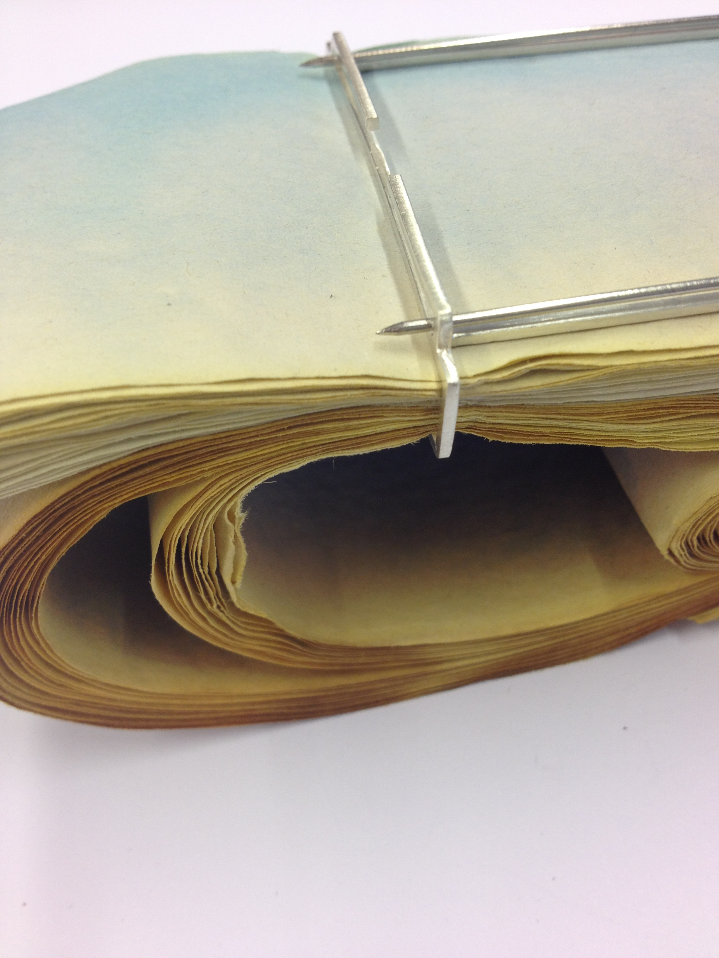 'Overwhelmed' Folded Brooch