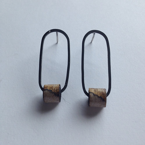 Oval Single Tape Studs