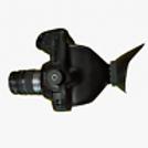 Blackmagic cinema 4k camera eye viewfinder