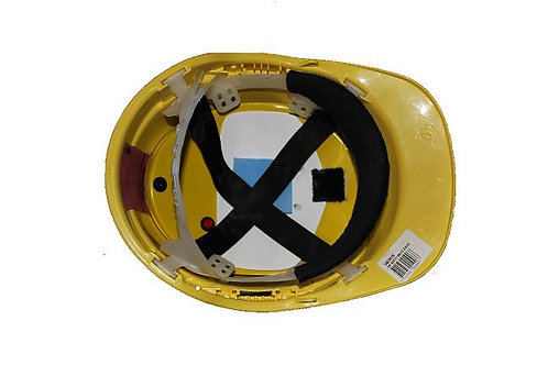 Construction hardhat safety with insert.