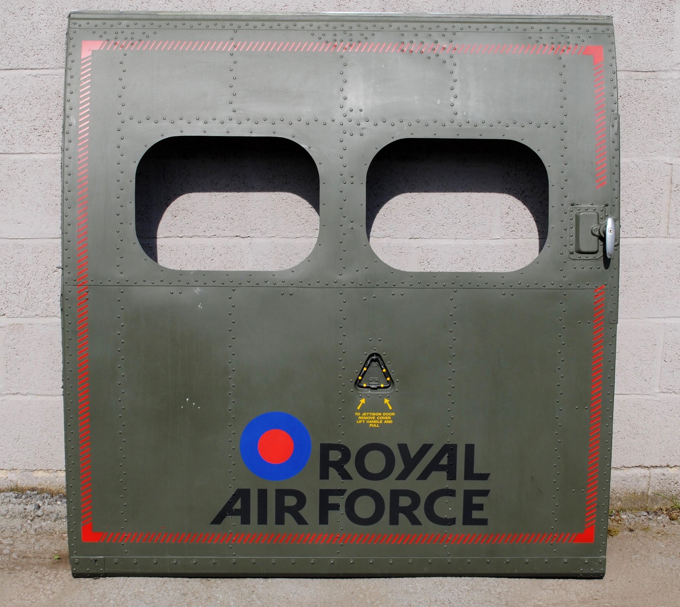 Puma Helicopter Door
