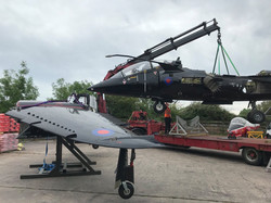 Harrier T8 move + assembly