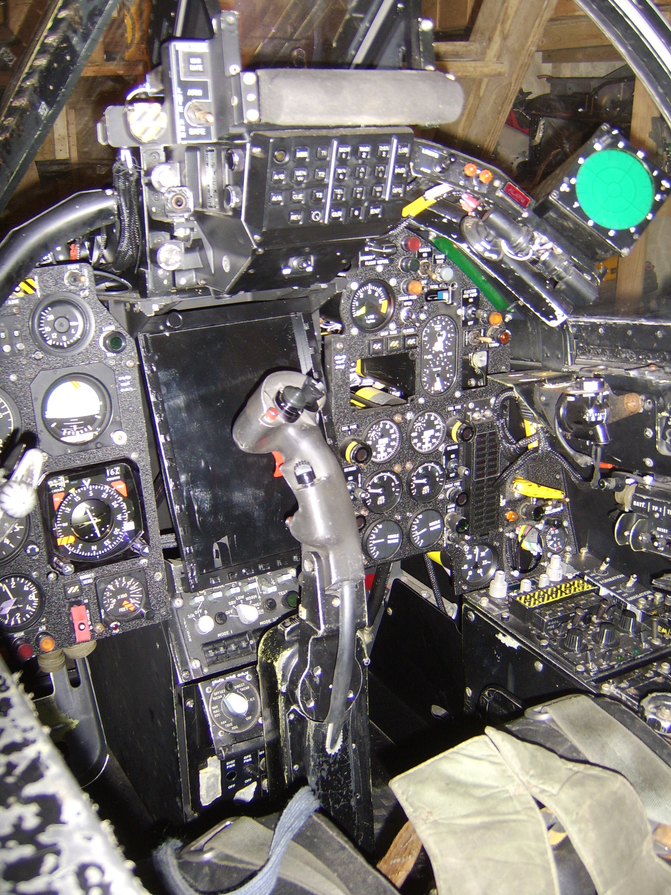 Jaguar Simulator Cockpit