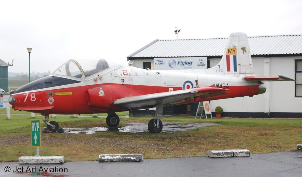 jet-provost-xw434-arrival-at-wolverhampton-airport