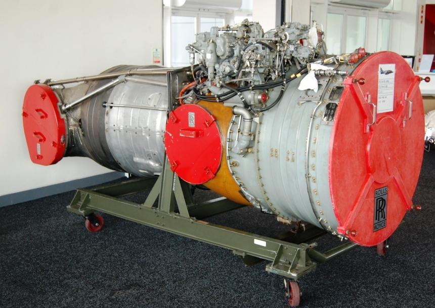 Rolls Royce Pegasus 103 engine