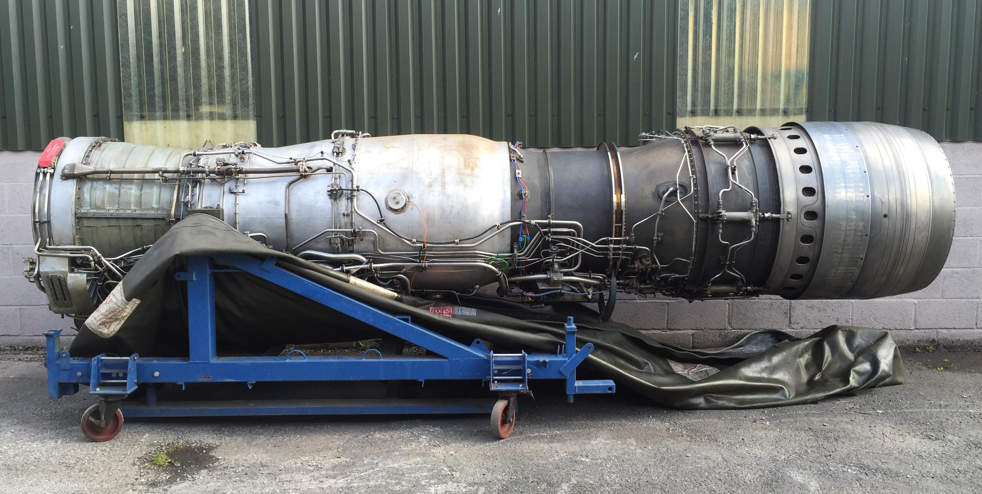 Rolls Royce spey 202 jet engine
