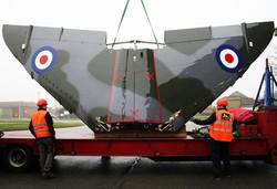XV741 wing load at Marham