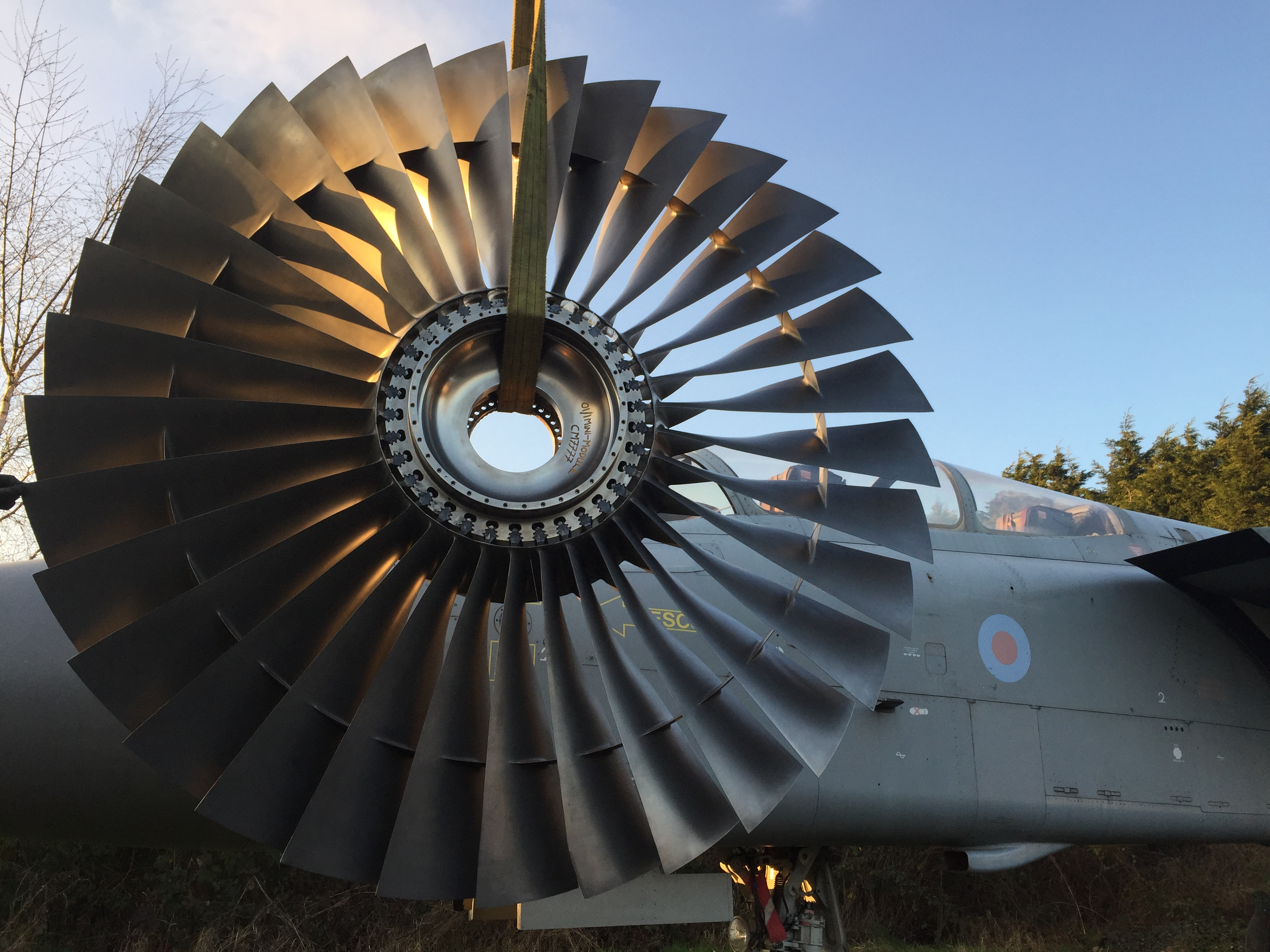 Jet Engine Fan Stage