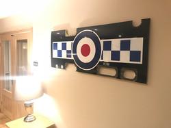 19 Sqn Hawk RAF Markings Wall Art