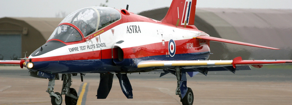 In service image of XX341 Astra hawk by Rick de Smet