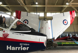 VAAC Harrier road move