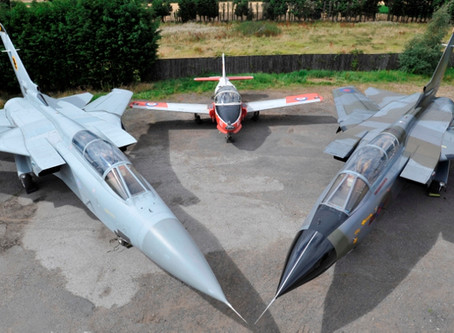 Tornado ZA399  – Gulf War veteran and ex-617 'Dambusters' Squadron restored by Jet