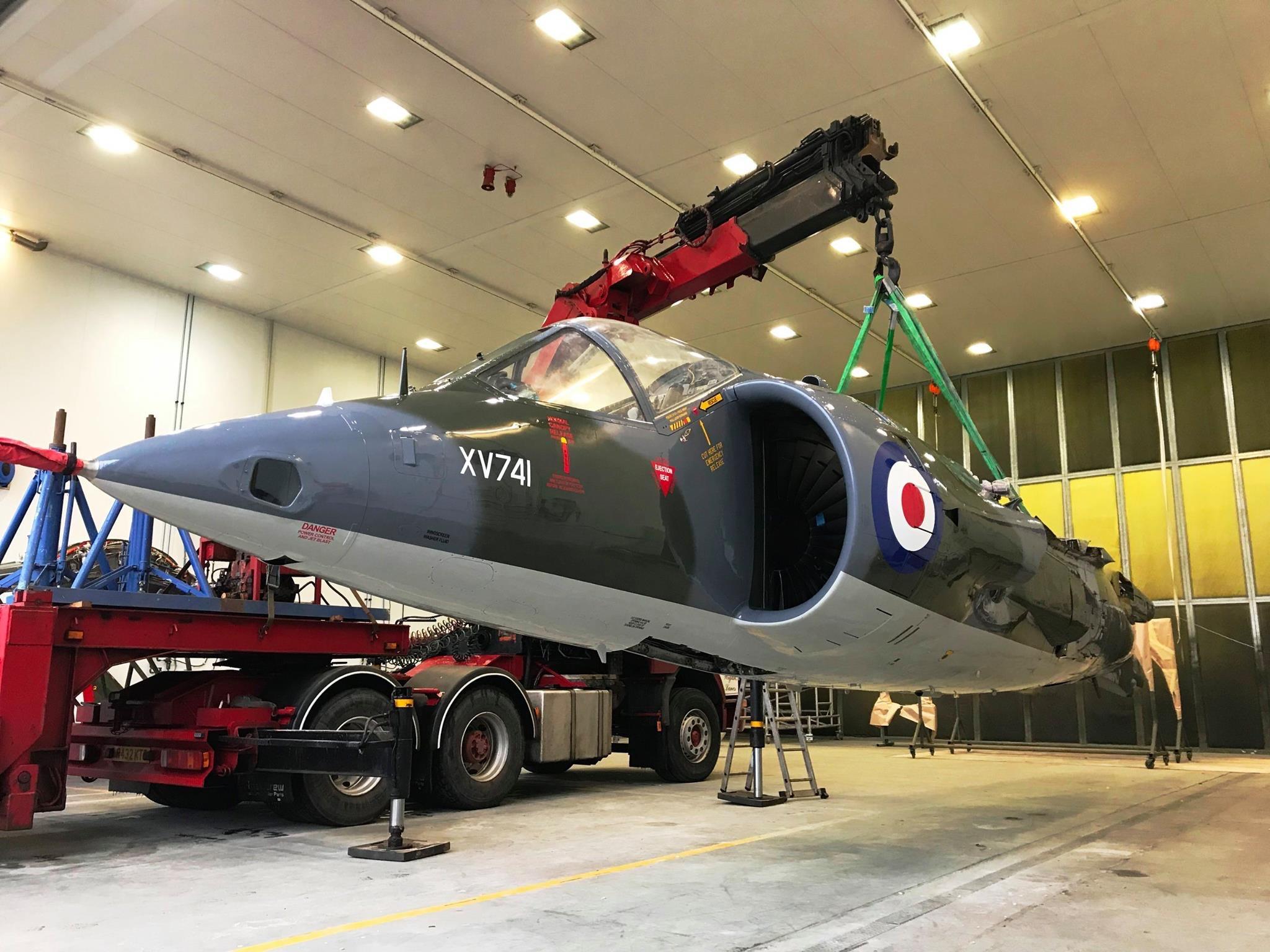 Air Race Harrier collection RAF Mar