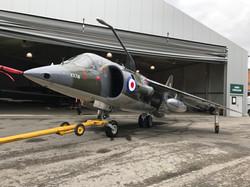 Harrier  XV741 after restoration