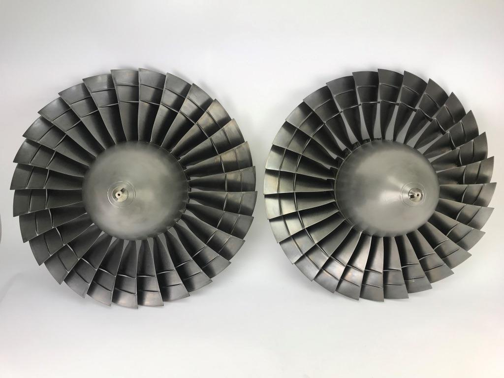 P&W JT15 engine fans