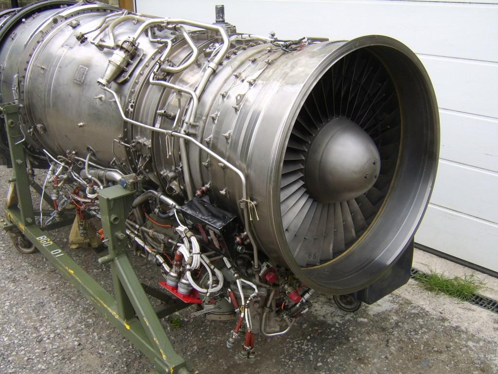 RAF Tornado Aircraft Turbomecca - Rolls