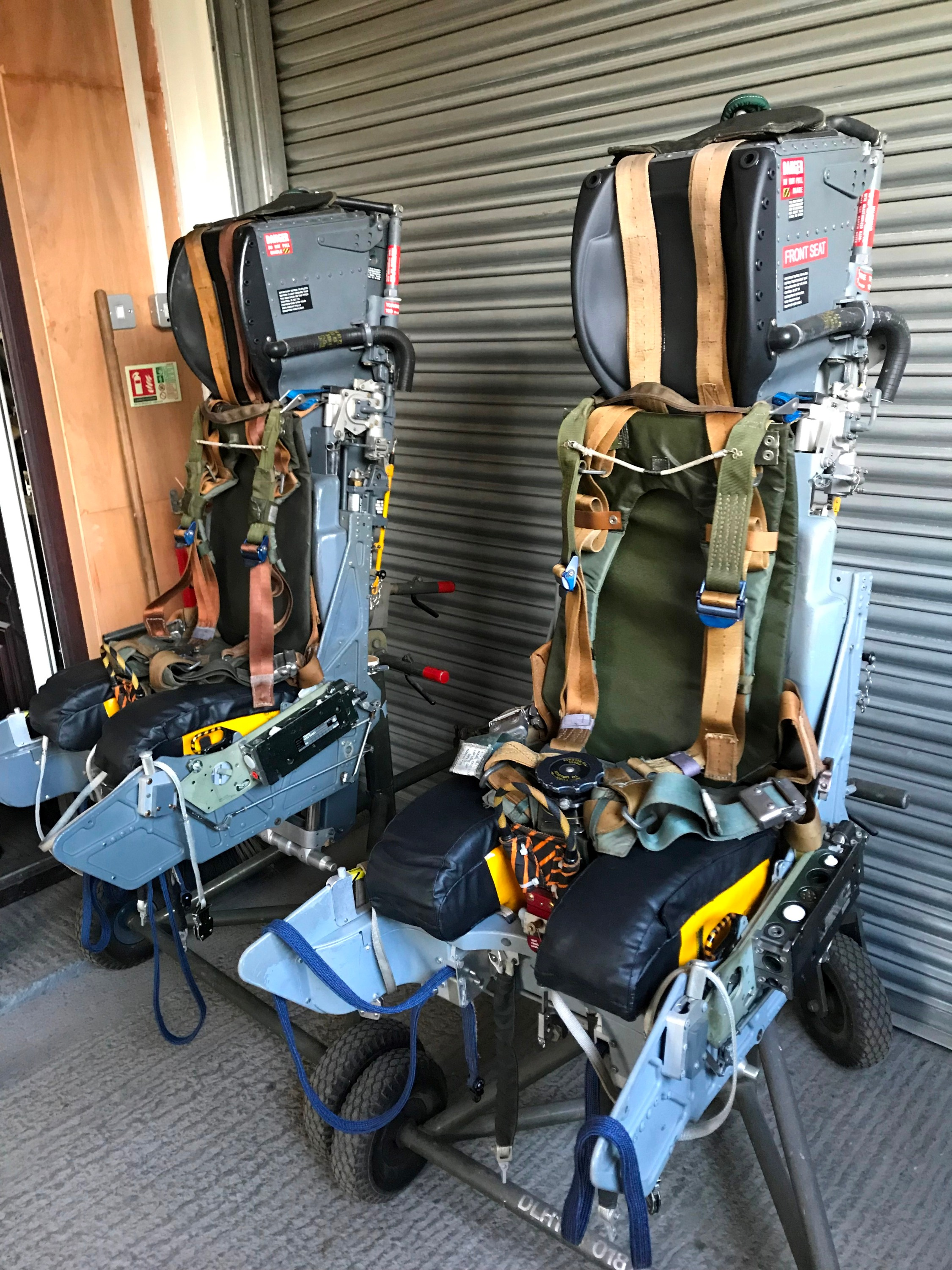 Mk10A training ejection seats