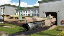 Jaguar extraction RAF Cranwell