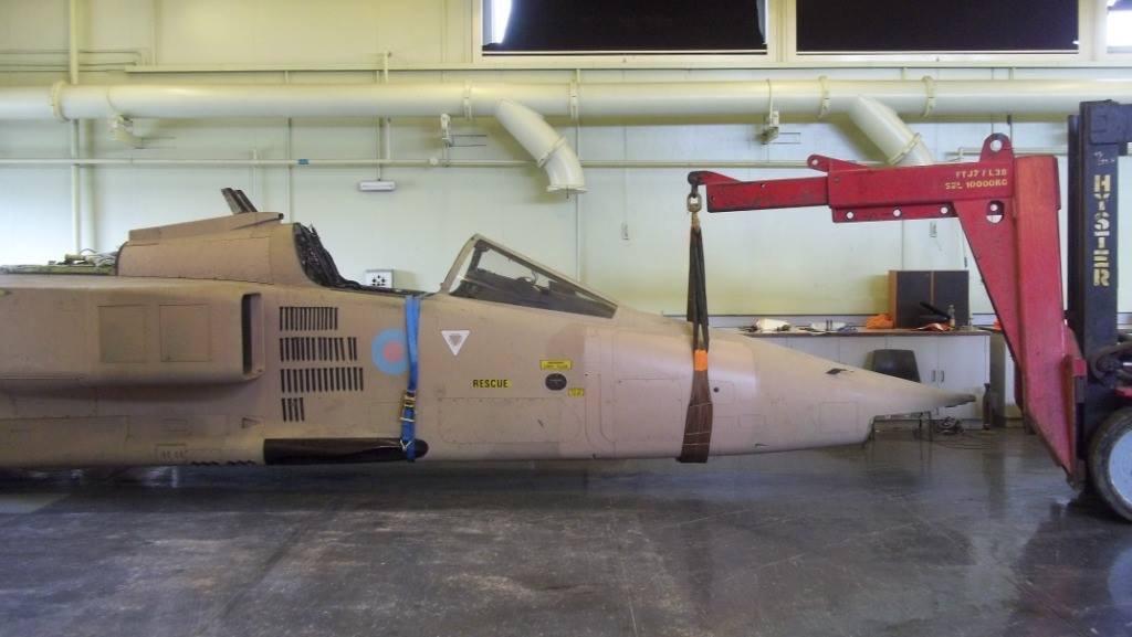 Jaguar GR1 extraction RAF College C