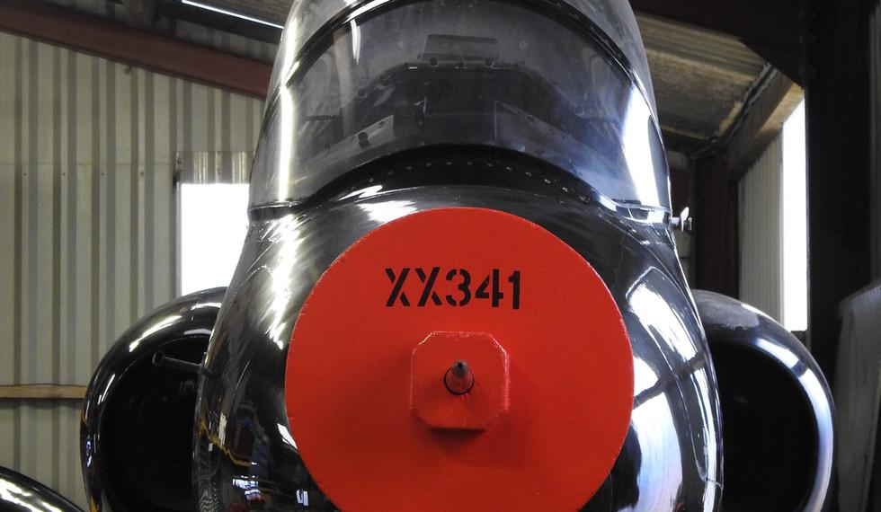 BAe Astra Hawk XX341 8.JPG