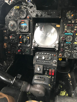 Jaguar GR1 Cockpit