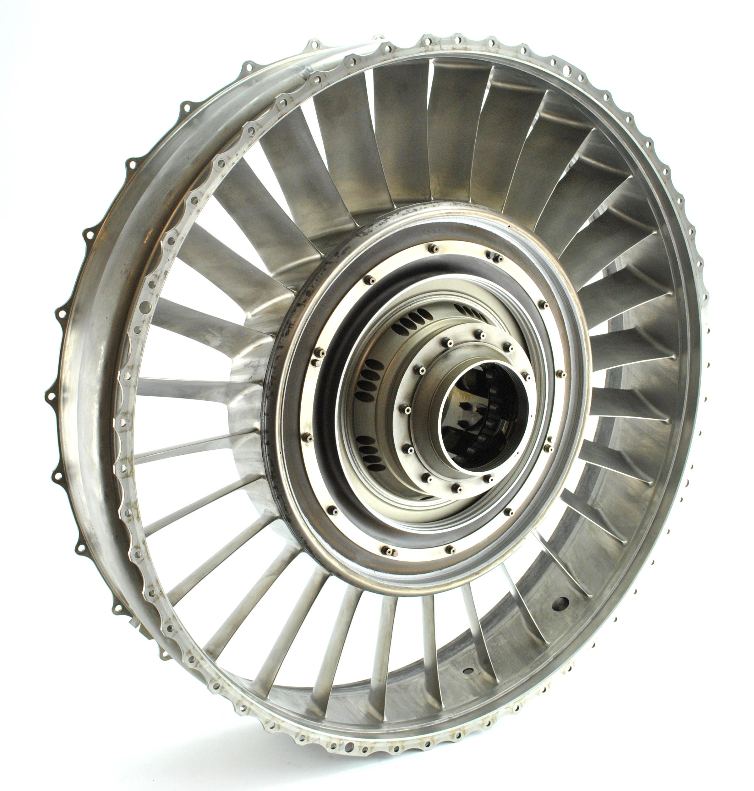 Titanium engine vane