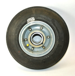 Small helicopter wheel