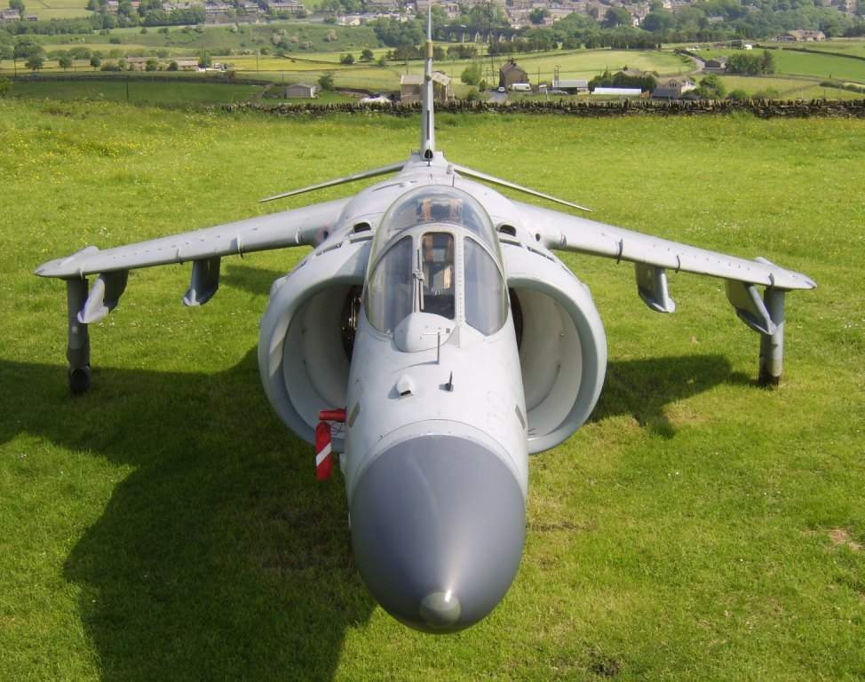 Sea Harrier ZD615 (2)