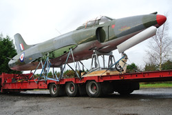 Supermarine Swift road transport