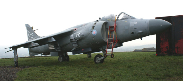 Sea Harrier FA2 ZD580