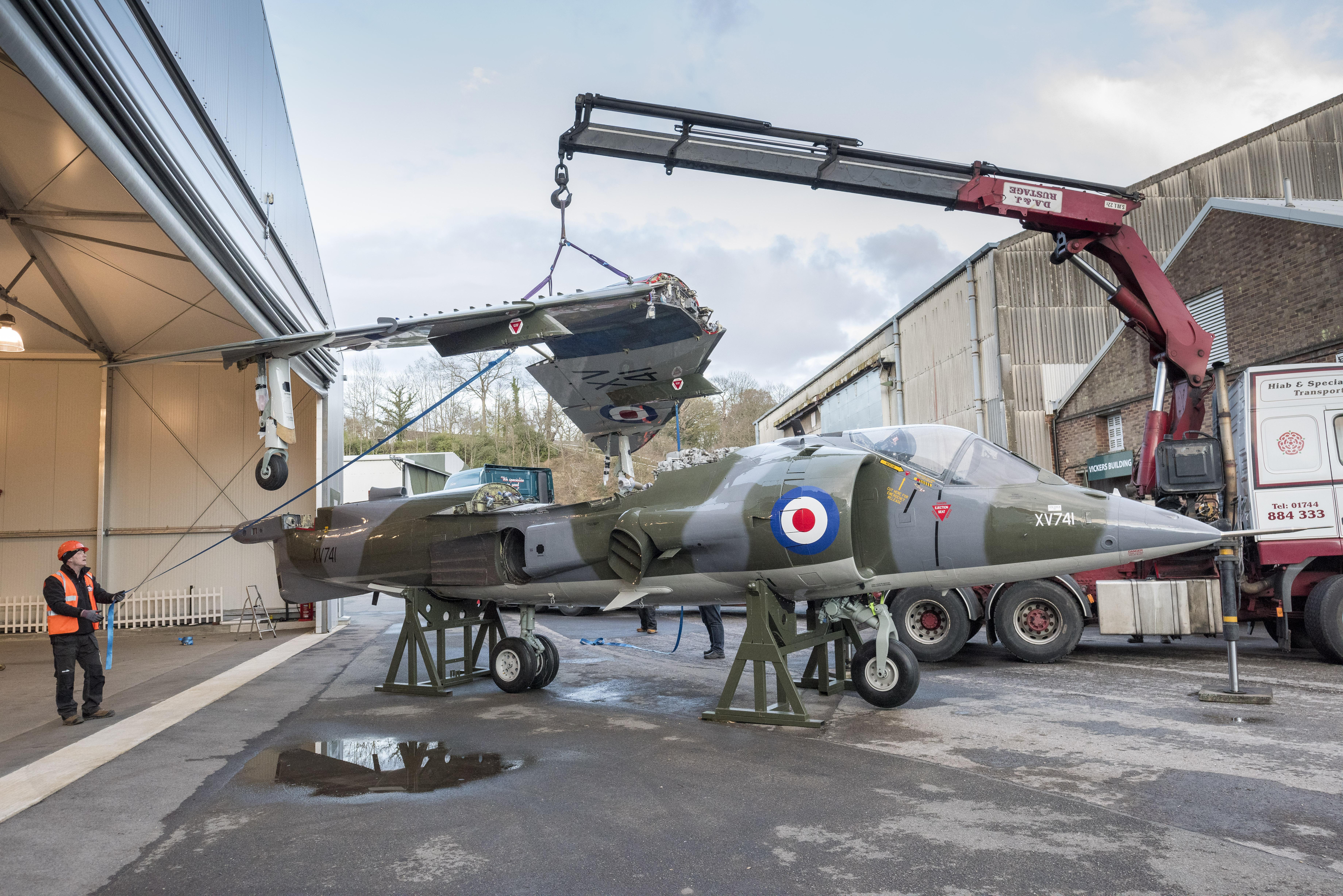 Air Race Harrier Rebuild