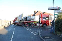 Harrier extracted Surbiton