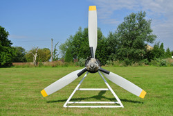 Pucara aircraft propeller