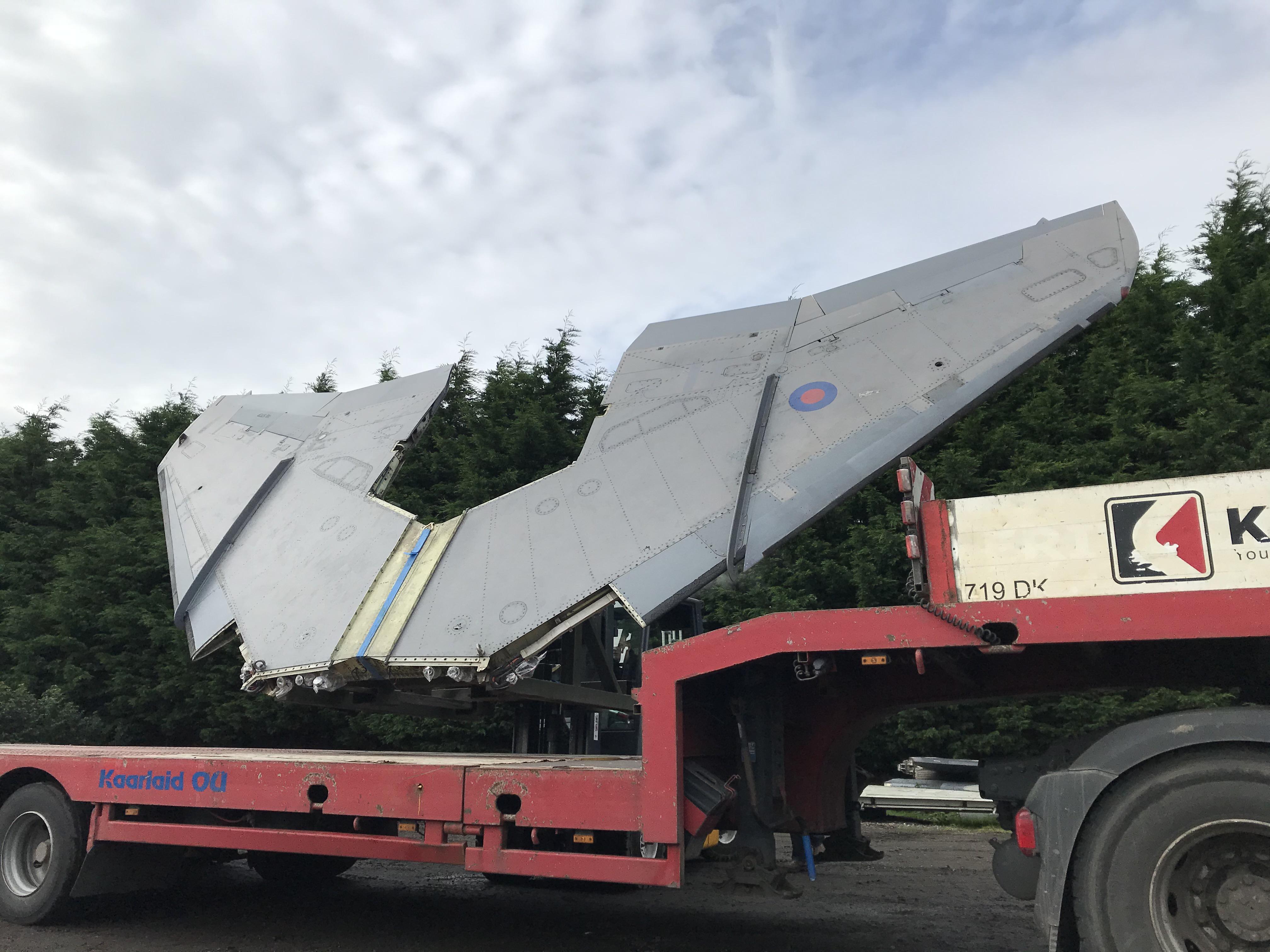 Jaguar GR3 shipping job