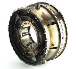 Titanium jet engine component