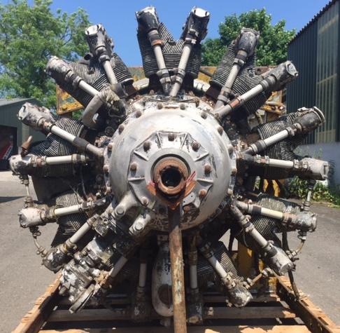 Alvis Leonidise radial engine