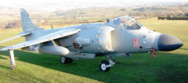 Sea Harrier FA2 ZD615