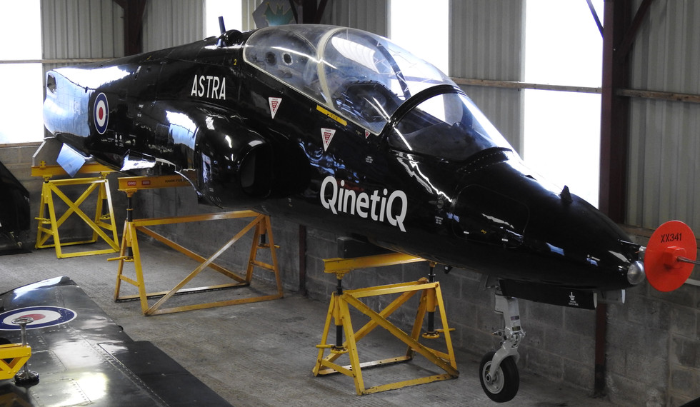 BAe Astra Hawk XX341 1.JPG