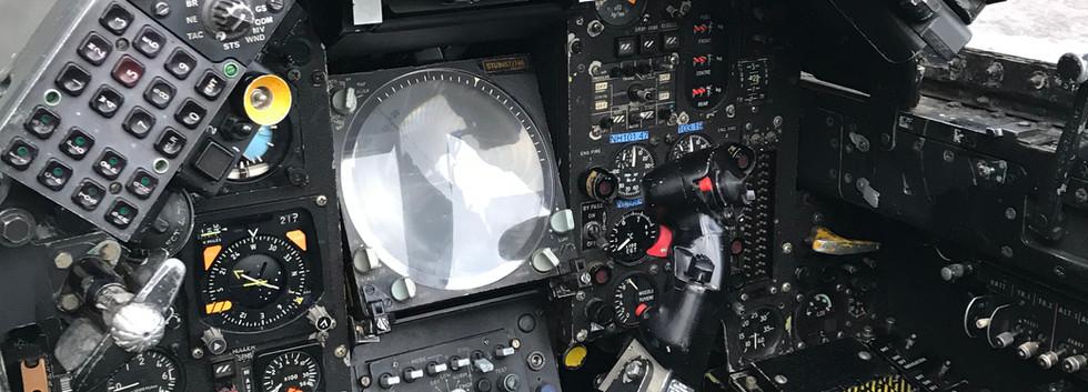 Jaguar GR3 XZ361 Cockpit